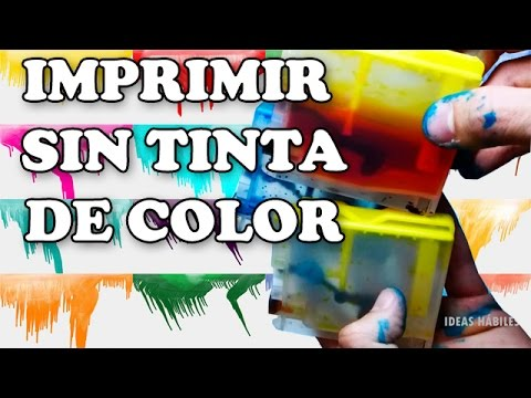Cmo Imprimir Sin Tinta De Color How To Print Without Color Ink Tutorial Truco
