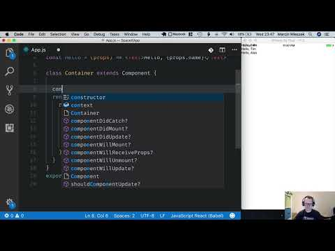React Native Tutorial - Getting Started #7 - Write Class Component thumbnail