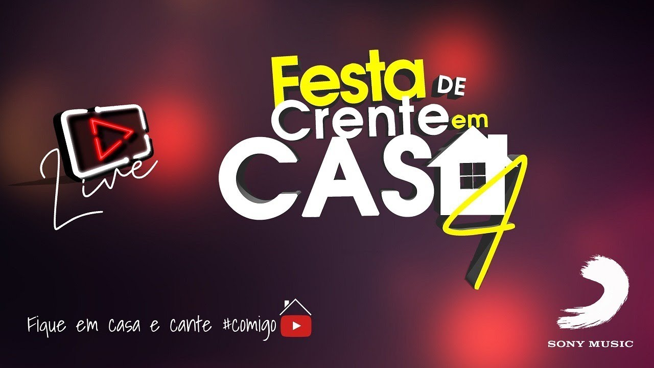 Live Banda Som e Louvor - Festa de Crente em Casa 4