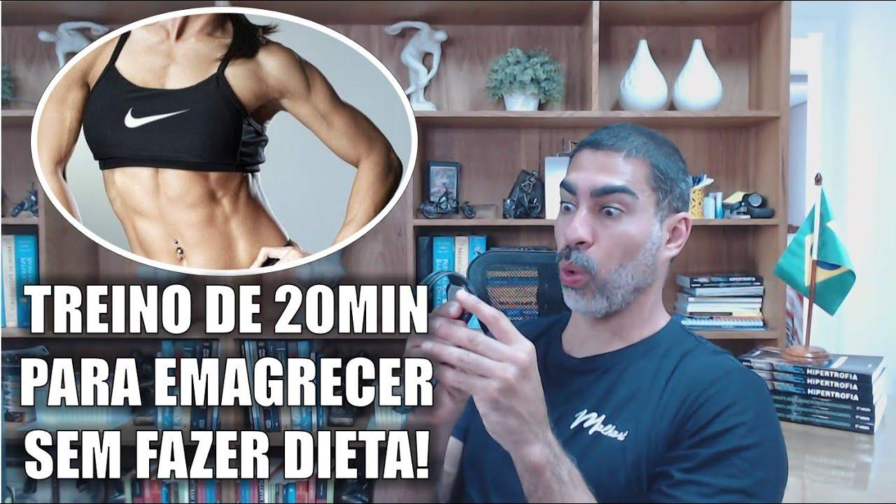 Treino de 20 minutos para perder gordura, sem fazer dieta!