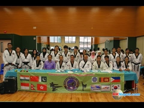 Foreigner's Hong Kong Taekwondo 3rd Upgrading Test 2014