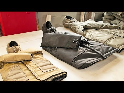 Non-Profit Employs Homeless To Make Sleeping Bag Coats For H
