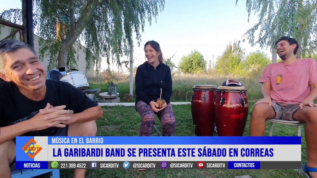 La Garibardi Band se presenta este sábado en Ignacio Correas