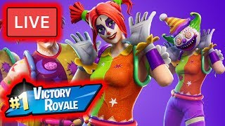 Fortnite Battle Royale NEW Skins! Members Squad Matches!