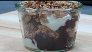 Blueberry Breakfast Trifle - Nicko's Kitchen