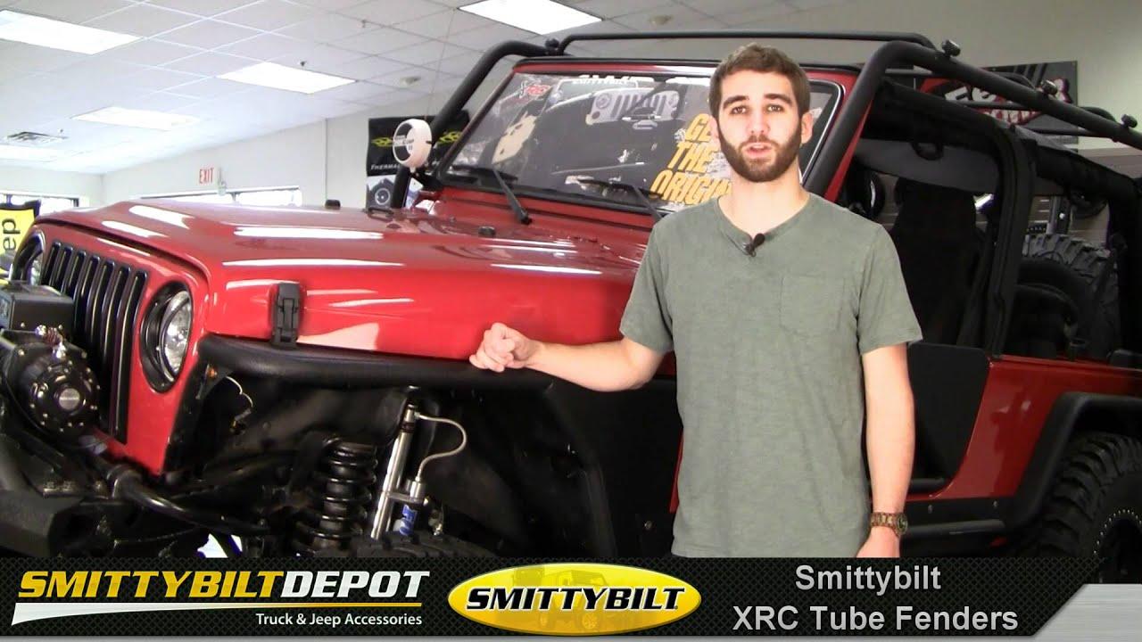 Smittybilt Xrc Tube Fenders Jeep Armor Amp Protection
