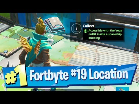 Fortnite Fortbyte #19 Location – Accessible with the Vega outfit inside a Spaceship building