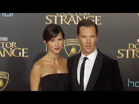 "Benedict Cumberbatch & Sophie Hunter ""Doctor Strange"" World Premiere Red Carpet"