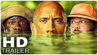 JUMANJI 2: 5 Minute Extended Trailer (2017) streaming