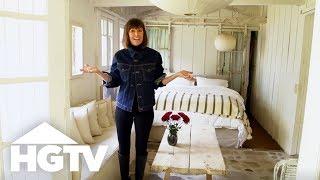 Tour HGTV Star Leanne Ford's Cozy Vintage Cabin