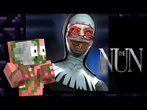 Monster School: THE EVIL NUN HORROR GAME CHALLENGE - Minecraft Animation