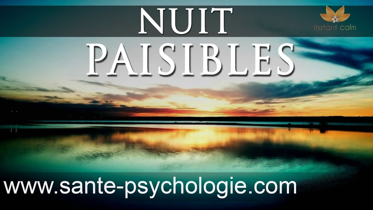 relaxation nuit paisible