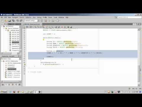 Java - JDBC Datases - SQL - 2 of 3