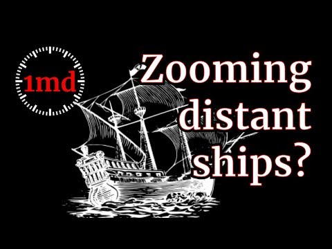 1MD - Flat Earth - Zooming brings ships back thumbnail