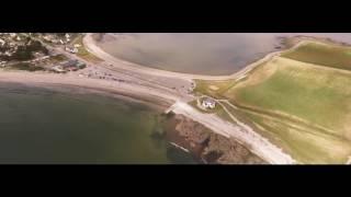 Camping La grée penvins: vue aérienne.