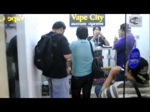 Vape City Alabang Opening Day