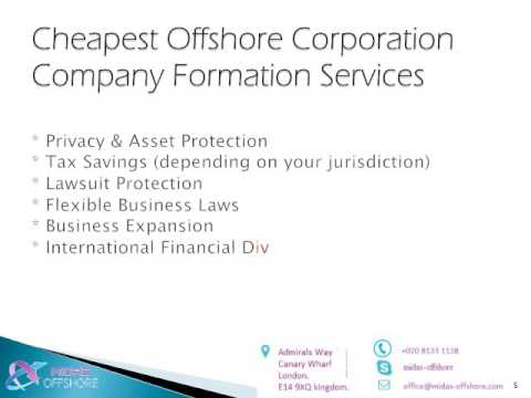 MIDAS OFFSHORE -Offshore Company Incorporation & Companies Registration