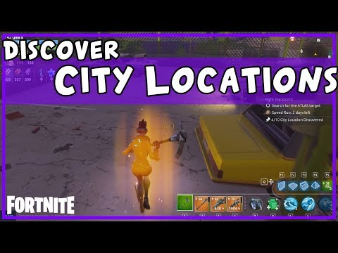 FORTNITE Guide - Discover City Locations daily quest + search strategy