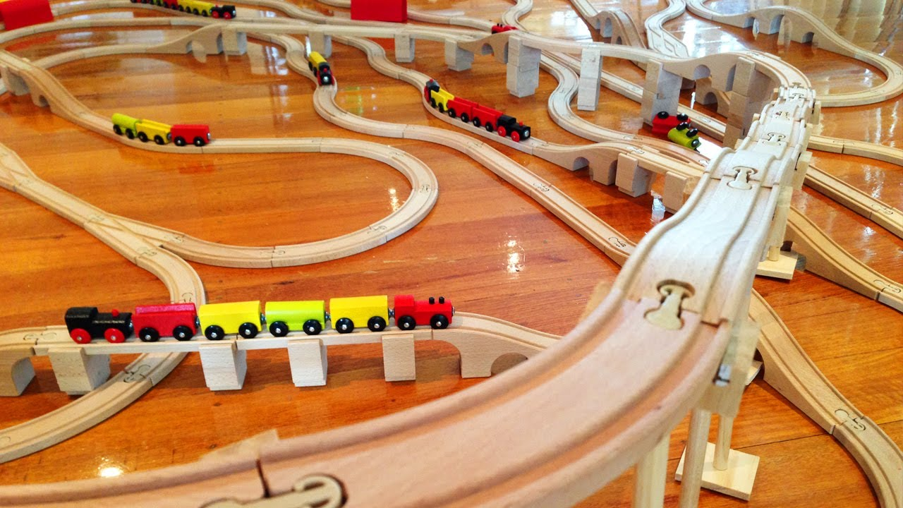 Mountain Speed With Fun Kids Trains Sets Toy Train Track 20 Youtube