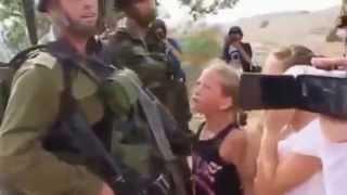vuclip luar biasa... Anak-anak palestina berani melawan tentara israel
