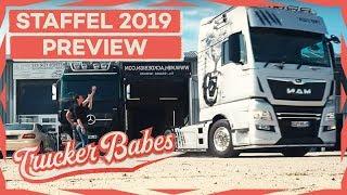 """Besondere Fahrt im Ausstellungs-Truck """"The Lion"""" für Sabrina   PREVIEW   Trucker Babes   kabel eins"""
