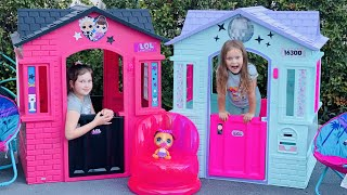 New LOL Surprise Playhouse for Sisters Play Toys