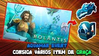 NOVO EVENTO DO AQUAMAN 🌊 Roblox Aquaman City of Rolantis