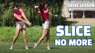 [Golf with Aimee] Driver Lesson 001- Slice No More!