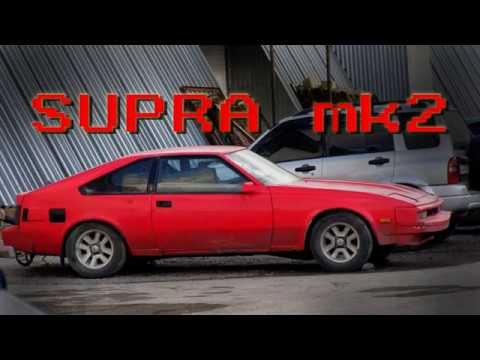 Toyota Supra mk2 rebuild/paint&rust remove
