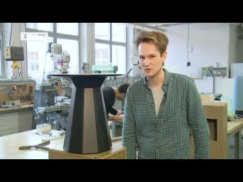sebastian herkner auf dem salone del mobile in mailand euromaxx youtube. Black Bedroom Furniture Sets. Home Design Ideas