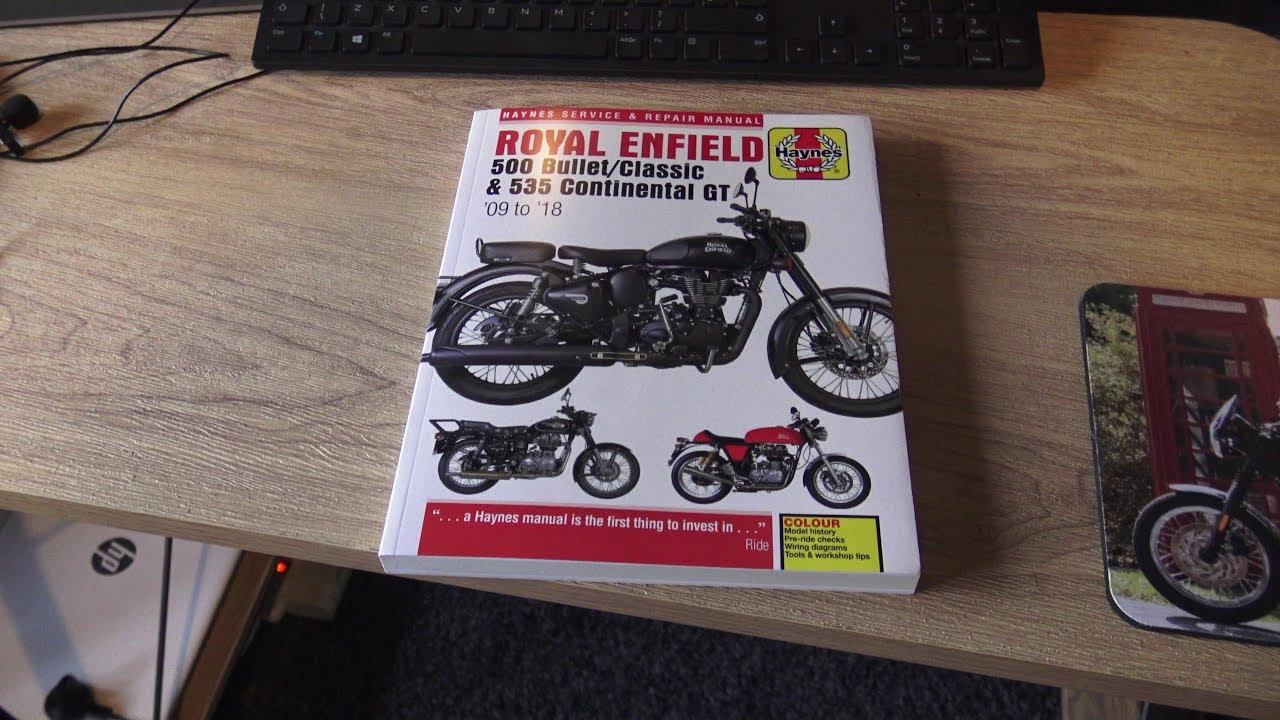 the fall and rise of the royal enfield bullet 500, haynes finally releases  a service manual!