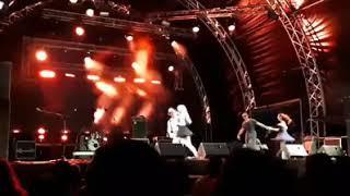 Djangofest 2019, social dancing on stage!