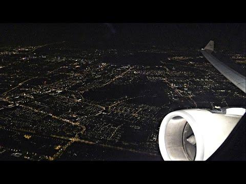 Stunning Etihad Airbus A330 Nighttime Takeoff Amsterdam