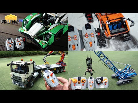 LEGO Technic 2015 All model RC Motorized version (total 19 set) by ...