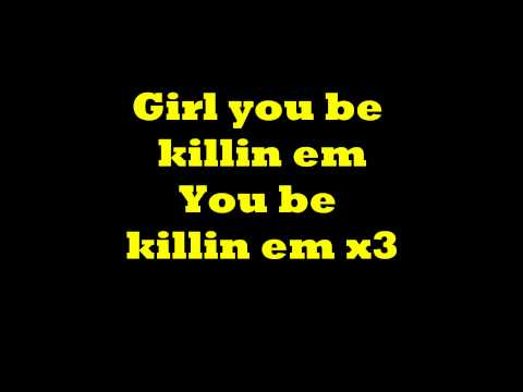 You be Killin Em - Fabolous (Lyrics on screen)