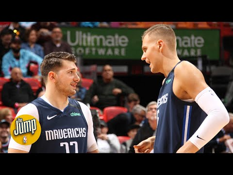 The chemistry with Luka Doncic and Kristaps Pozginis is 'awkward' – Tim MacMahon | The Jump