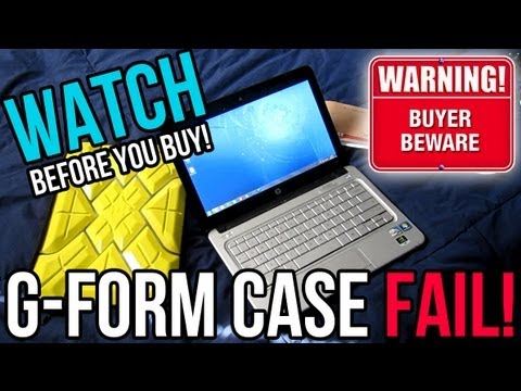 GEAR REVIEW: G-Form Extreme Laptop Sleeve FAIL! - YouTube