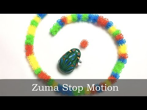Stop Motion: Zuma Deluxe on paper. please share! (2019)