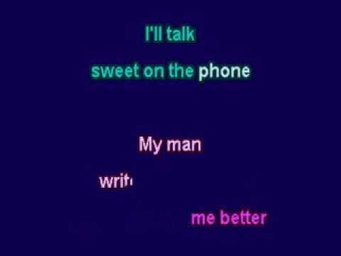 I Got A Man (Positive K) karaoke