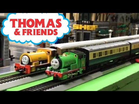 Kids Playing With Bachmann Thomas and Friends Trains HO Scale