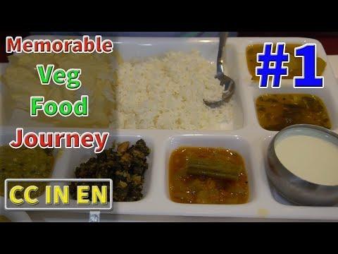 Hyderabad Veg food Episode 1  Telangana Food journey