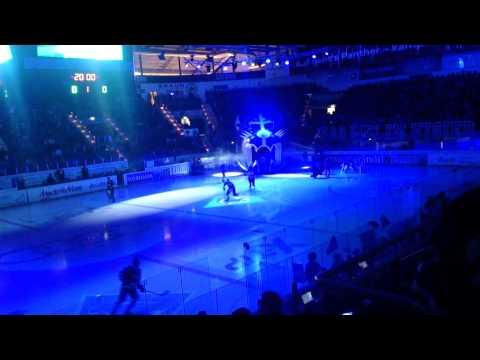 Eishockey Panther-Adler  Finale 2015 Stimmung+Choreo