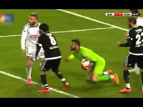 Beşiktaş 1 -2 Torku Konyaspor Maçın Özeti Türkiye Kupası 10 02 2016