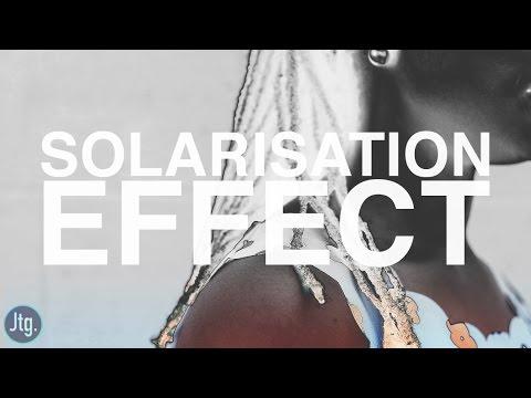 Photoshop Tutorial: Solarized Photo Effect (Solarisation)
