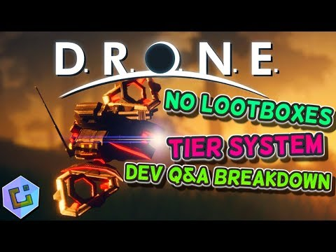 D.R.O.N.E - DEV Q&A Breakdown!