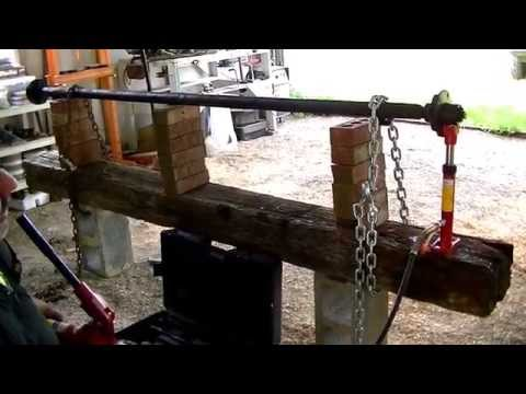 Ep.15 - Straightening Our Bent Boat Trailer Axle