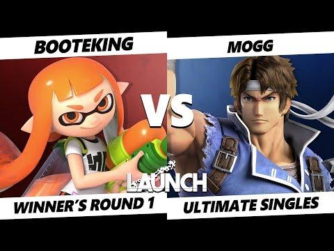 Launch Smash Ultimate - Booteking (Inkling) VS Mogg (Richter) SSBU Winner's Round 1