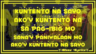 Repeat youtube video Curse One - Kuntento Na Sayo (Lyrics) JE Beats
