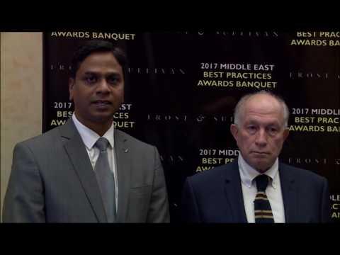Burjeel Hospital(A unit of VPS Healthcare) -2017 Frost & Sullivan ME Awards Banquet