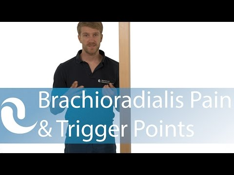 Brachioradialis pain & trigger points - myofascial self-release